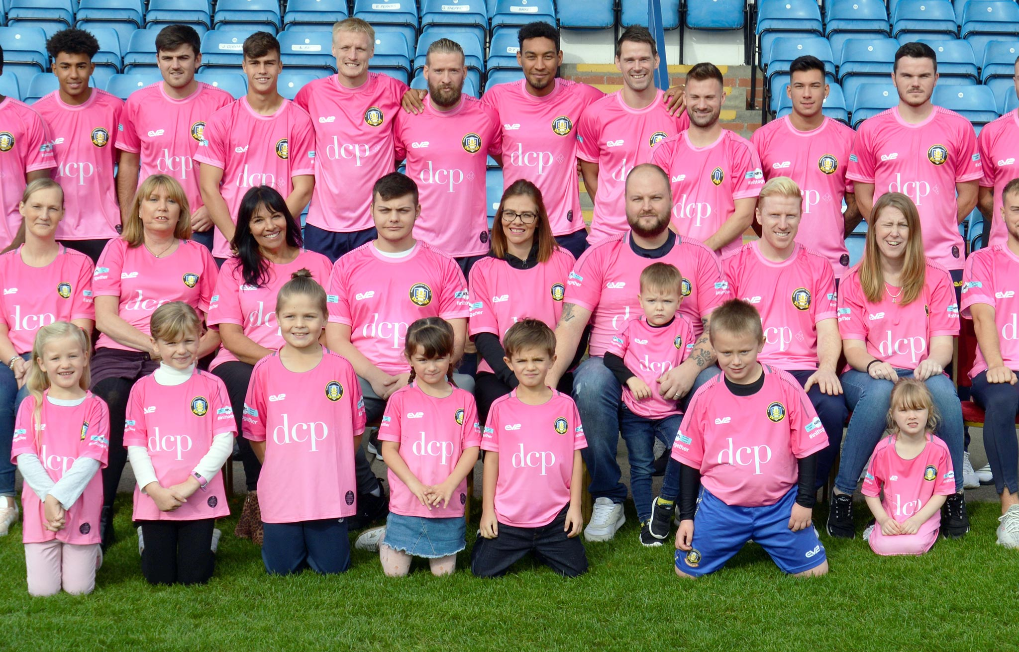 Gainsborough Trinity Wear It Pink